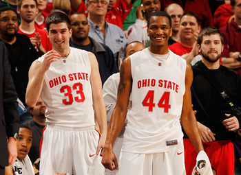 Jon Diebler (left) and William Buford (right) are just two of the reasons Ohio State is a contender