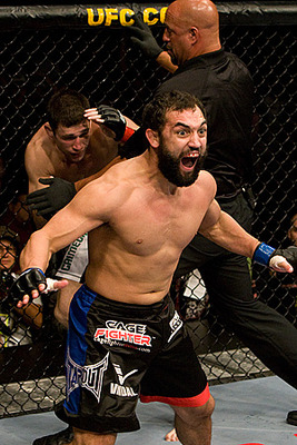 Johnny Hendricks has won using his wrestling and his striking, if he can make the two work together he could be elite.