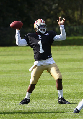 Troy Smith at 49ers Practice