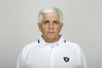 OAKLAND, CA - 2009:  John Marshall of the Oakland Raiders poses for his 2009 NFL headshot at photo day in Oakland, California.  (Photo by NFL Photos)