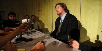 Lee Ziemba all dressed up at the SEC Media Day 2010.