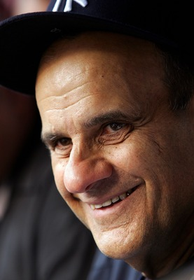 NEW YORK - AUGUST 28:  Manager Joe Torre of the New York Yankees talks with the media before playing the Boston Red Sox on August 28, 2007 at Yankee Stadium in the Bronx borough of New York City.  (Photo by Jim McIsaac/Getty Images)