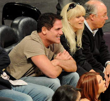 LOS ANGELES, CA - JUNE 03:  Mark Cuban, ownver of the Dallas Mavericks, attends Game 1 of the NBA Finals between the Los Angeles Lakers and the Boston Celtics at Staples Center on June 3, 2010 in Los Angeles, California.  (Photo by Michael Buckner/Getty I