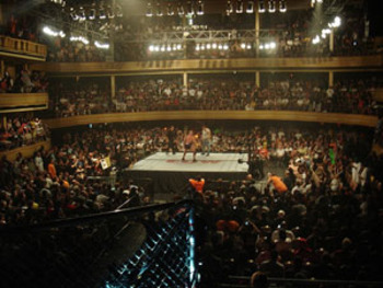 The Hammerstein Ballroom located inside the Manhattan Center could be an ideal place to tape episodes of impact from time to time.