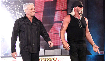 When utilized correctly, Hogan and Bischoff could be assets as opposed to liabilities.