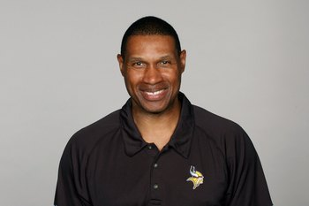 MINNEAPOLIS - 2009:  Leslie Frazier of the Minnesota Vikings poses for his 2009 NFL headshot at photo day in Minneapolis, Minnesota.  (Photo by NFL Photos)