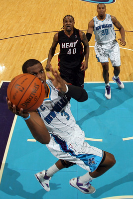 NEW ORLEANS - NOVEMBER 05:  Chris Paul #3 of the New Orleans Hornets in action during the game against the Miami Heat at the New Orleans Arena on November 5, 2010 in New Orleans, Louisiana.  NOTE TO USER: User expressly acknowledges and agrees that, by do