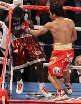 """Pacmans"" blistering speed proved to be far too much for Joshua Clottey and could again prove to be the major factor against Margarito"