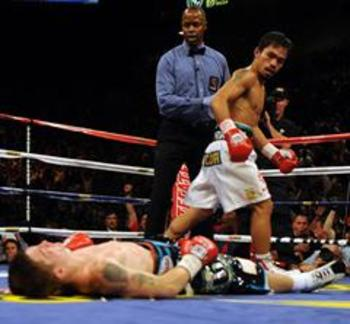 Manny's power could surprise Margarito early on and cause an early win