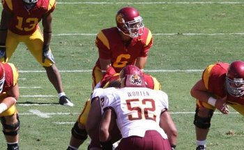 Usc_arizona_state_october_11_15_mark_sanchez_readies_for_snap_display_image