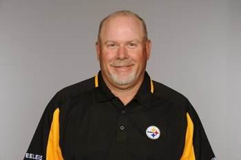 PITTSBURGH - 2009:  Bruce Arians of the Pittsburgh Steelers poses for his 2009 NFL headshot at photo day in Pittsburgh, Pennsylvania.  (Photo by NFL Photos)