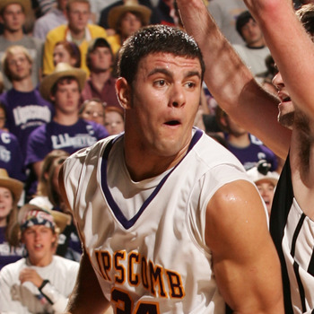 Adnan Hodzic, Lipscomb's Bosnian Beast. Photo Credit: AtlanticSun.org
