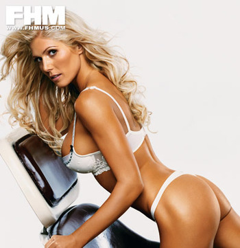 Torrie Wilson was born to do one thing: kick other women's asses.