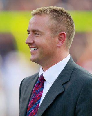 AUBURN, AL - SEPTEMBER 18:  ESPN commentator Kirk Herbstreit before the game between the Clemson Tigers and the Auburn Tigers at Jordan-Hare Stadium on September 18, 2010 in Auburn, Alabama.  (Photo by Kevin C. Cox/Getty Images)