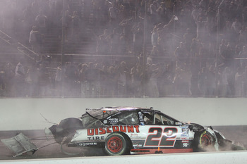 Keselowski suffered one of his worst finishes after Carl Edwards wrecked him in front of the field to win Gateway in July.