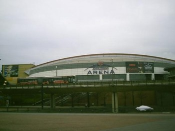 The Konig Pilsener Arena in Oberhausen, Germany hosts UFC 122