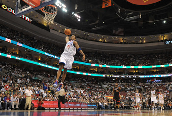PHILADELPHIA - OCTOBER 27:  Andre Iguodala #9 of the Philadelphia 76ers in action during the game against the Miami Heat at the Wells Fargo Center on October 27, 2010 in Philadelphia, Pennsylvania. NOTE TO USER: User expressly acknowledges and agrees that