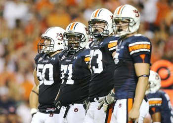 The Tigers feature an experienced offensive line.
