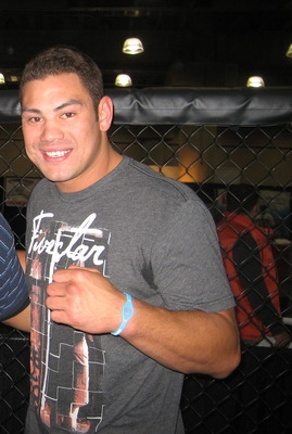 Up and coming Strikeforce Heavyweight - Shane del Rosario