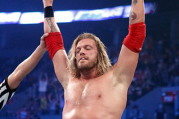 The Rated R Superstar, Edge, photo copyright to WWE.com