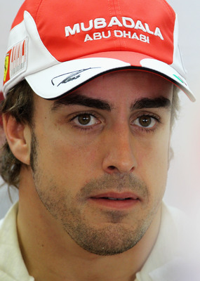 ABU DHABI, UNITED ARAB EMIRATES - NOVEMBER 12:  Fernando Alonso of Spain and Ferrari prepares to drive during practice for the Abu Dhabi Formula One Grand Prix at the Yas Marina Circuit on November 12, 2010 in Abu Dhabi, United Arab Emirates.  (Photo by P
