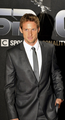SHEFFIELD, UNITED KINGDOM - DECEMBER 13: Jenson Button attends the BBC Sports Personality Of The Year Awards at Sheffield Arena on December 13, 2009 in Sheffield, England. (Photo by Nick Pickles/Getty Images)