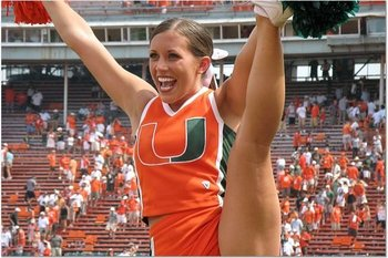 NFL Cheerleading Oops http://bleacherreport.com/articles/518642-virginia-tech-vs-miami-football-cheerleader-showdown-of-the-week