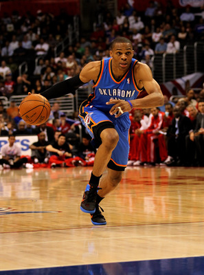"Russell Westbrook is known for his ""Cat"" like quickness and slashing ability"