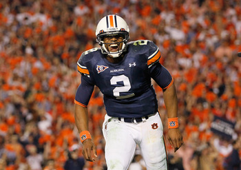 """... Cam's lyin' on a trophy case, wearin' nothin but a smile and an Auburn uniform..."""