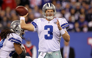 Dallas Cowboys' Quarterback Jon Kitna