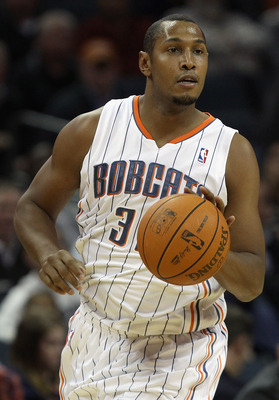 CHARLOTTE, NC - NOVEMBER 08:  Boris Diaw #32 of the Charlotte Bobcats against the San Antonio Spurs during their game at Time Warner Cable Arena on November 8, 2010 in Charlotte, North Carolina.  NOTE TO USER: User expressly acknowledges and agrees that,