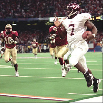Mike Vick in 2000 Sugar Bowl loss to Florida State National Championship