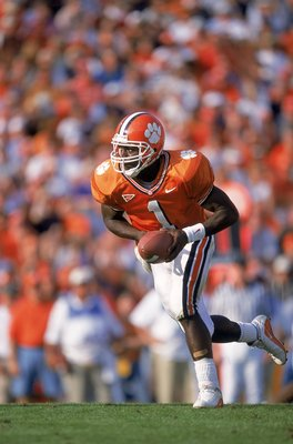 Woodrow Dantzler seen in 2000 was the first member of the 2000/1000 Club