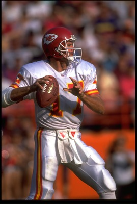 Steve DeBerg with Chiefs