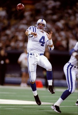 Harbaugh as a Colt