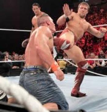 Wwe Nexus Vs John Cena Team WWE Injuries And Inact...
