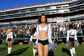 Is there anything better than Raiderettes on the field on a beautiful fall aftternoon? I think not!
