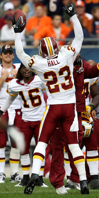 Redskins cornerback DeAngelo Hall