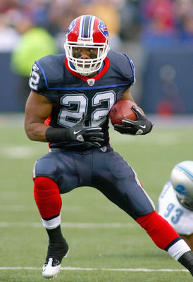 Bills running back Fred Jackson
