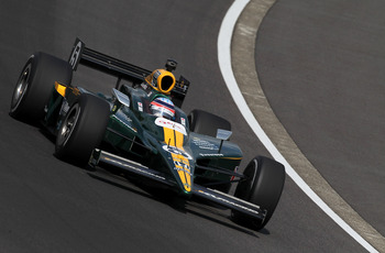 MOTEGI, JAPAN - SEPTEMBER 19:  Takuma Sato of Japan drives his #5 Lotus KV Racing Dallara Honda during the IndyCar Series  Indy Japan 300 on September 19, 2010 at Twin Ring Motegi in Motegi, Japan.  (Photo by Jonathan Ferrey/Getty Images)