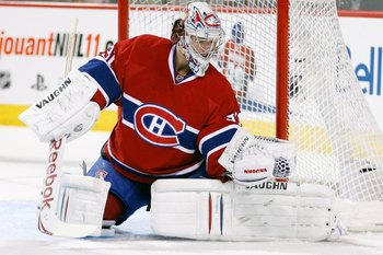 Price is shutting up his critics with his impressive play, trying to prove that trading Halak was not a bad move.