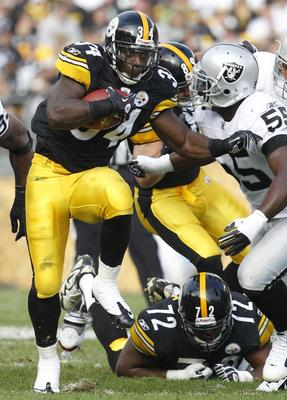 Rashard Mendenhall gained only 59 yards on Sunday.