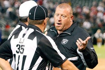 Tom Cable has somewhat improved the Raiders' discipline.