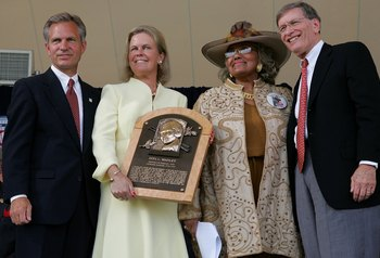 It was posthumous, but Manley became the first woman ever elected to the Baseball Hall of Fame in 2006.