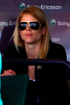 KEY BISCAYNE, FL - APRIL 02:  Elin Nordegren  wife Tiger Woods watches as Rafael Nadal of Spain takes on Andy Roddick of the United States during day eleven of the 2010 Sony Ericsson Open at Crandon Park Tennis Center on April 2, 2010 in Key Biscayne, Flo