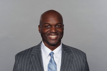 MIAMI - 2009:  Todd Bowles of the Miami Dolphins poses for his 2009 NFL headshot at photo day in Miami, Florida.  (Photo by NFL Photos)