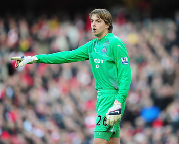 Tim Krul (22) - New Castle United - Holland