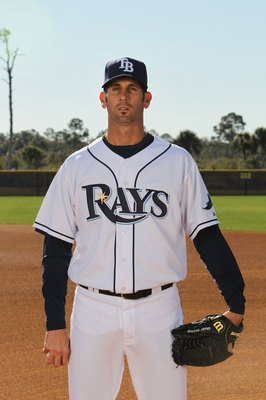 PORT CHARLOTTE, FL - FEBRUARY 26:  Grant Balfour #50 of the Tampa Bay Rays poses for a photo during Spring Training Media Photo Day at Charlotte County Sports Park on February 26, 2010 in Port Charlotte, Florida.  (Photo by Nick Laham/Getty Images)
