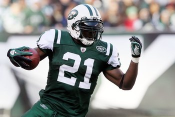 New York Jets' Running Back LaDainian Tomlinson