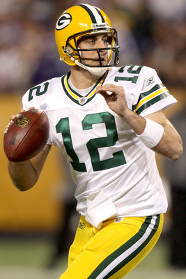 Green Bay Packers' Quarterback Aaron Rodgers